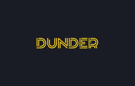 Ein Bild des Dunder Casino Logos