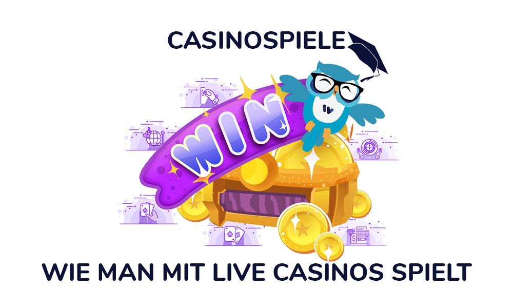 Wie man mit Live Casinos und Händlern spielt
