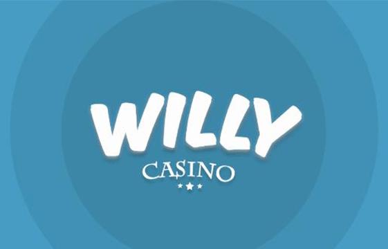 Et billede af Willy Casino banneret