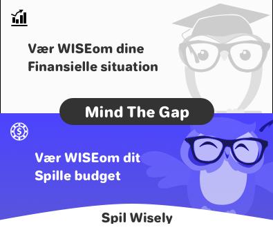 Wisegambler DK banner