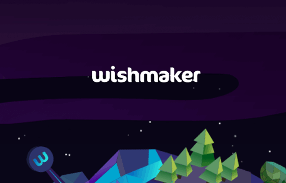 An image of the Wishmaker Casino logo