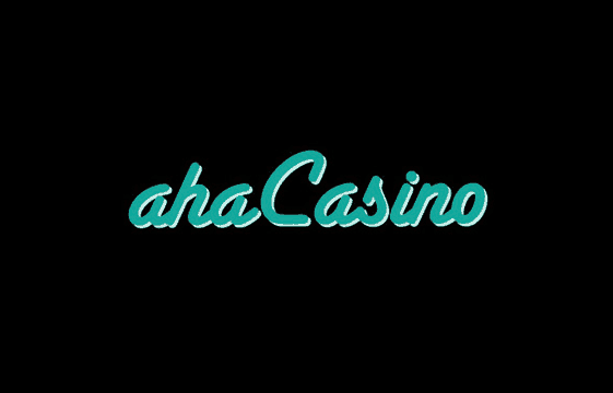 An image of the aha casino logo