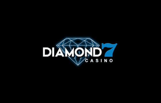 An image of the diamond7 casino logo