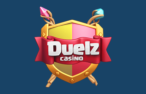 An image of the duelz casino logo