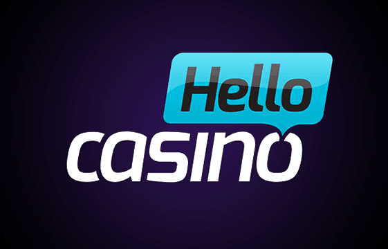 An image of the hello casino logo