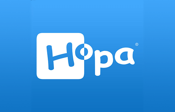 An image of the hopa casino logo