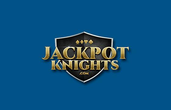 An image of the jackpot knights casino logo