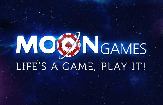 An image of the moon games casino logo
