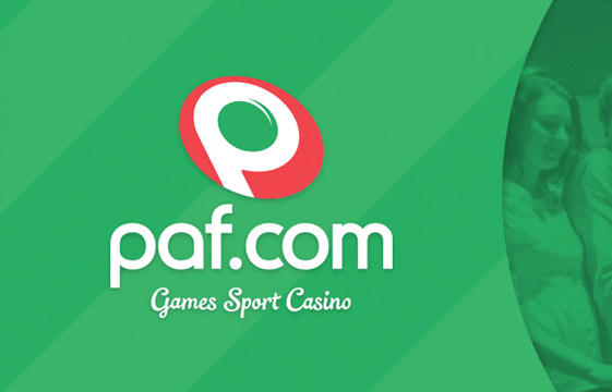 An image of the paf casino logo