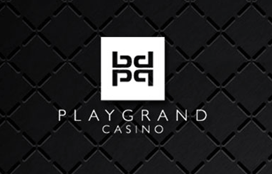 An image of the PlayGrand Casino logo