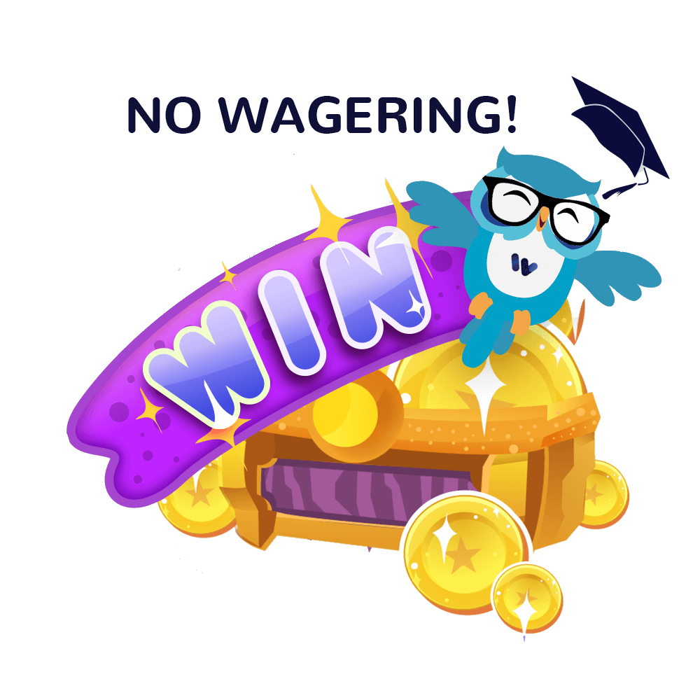 Wagering Requirement - no wagering