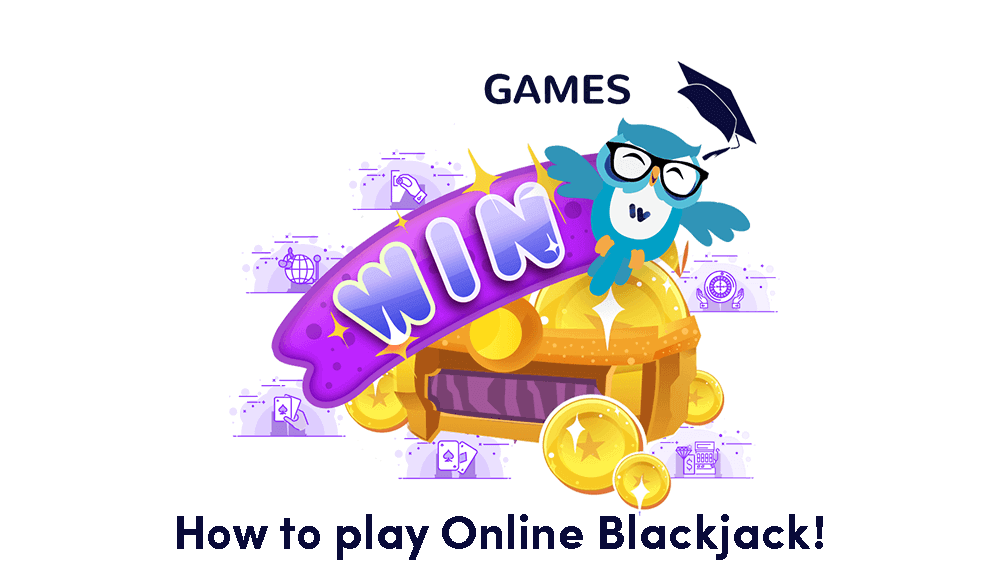 An image of how to play online blackjack