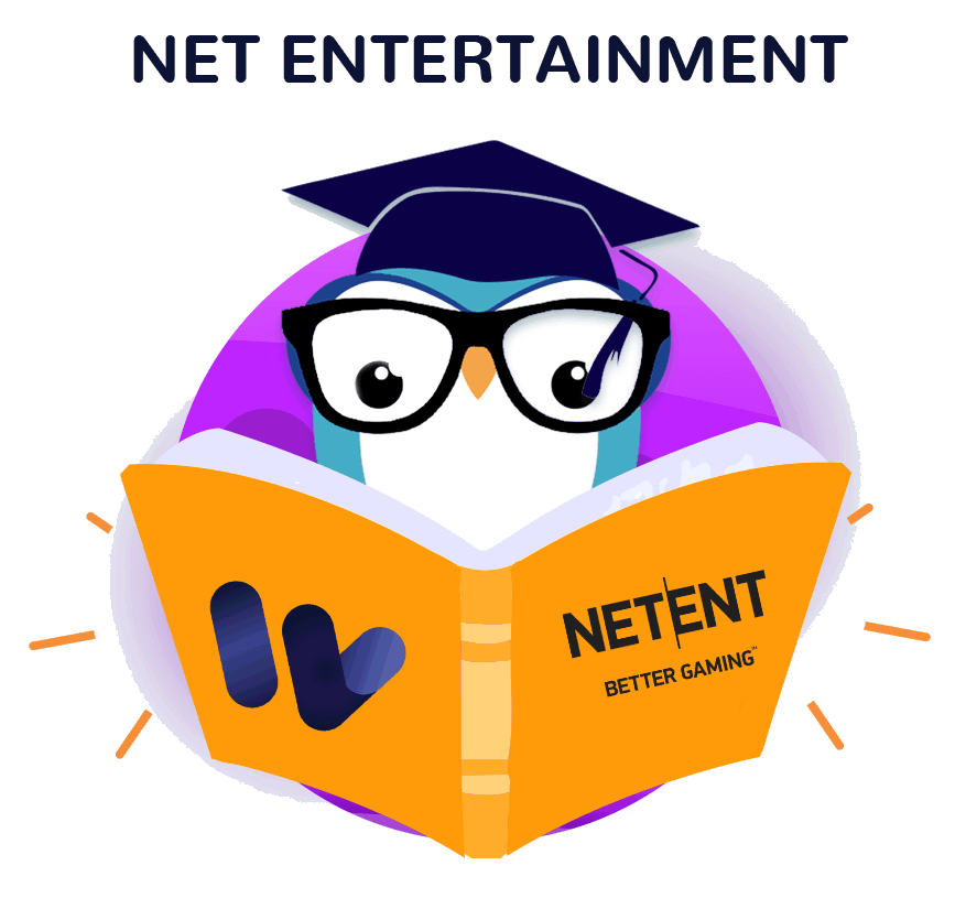 An image of the netent page