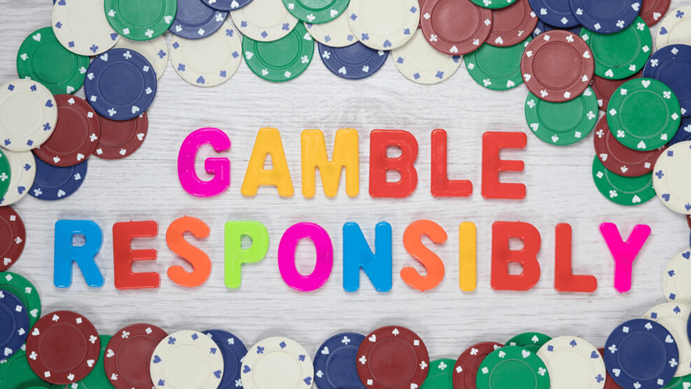 An image of the gamble responsibly banner