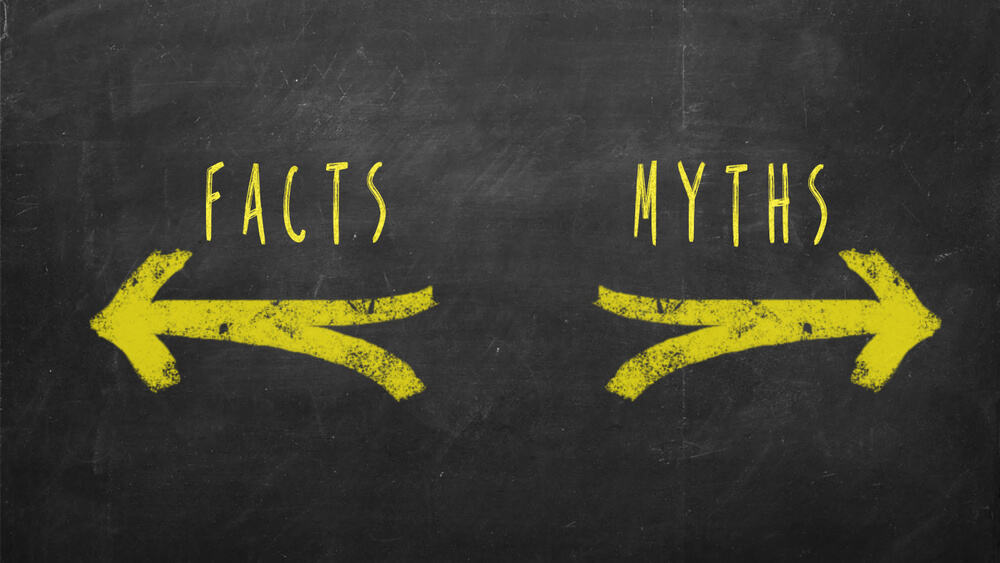 An image of Myths vs Facts