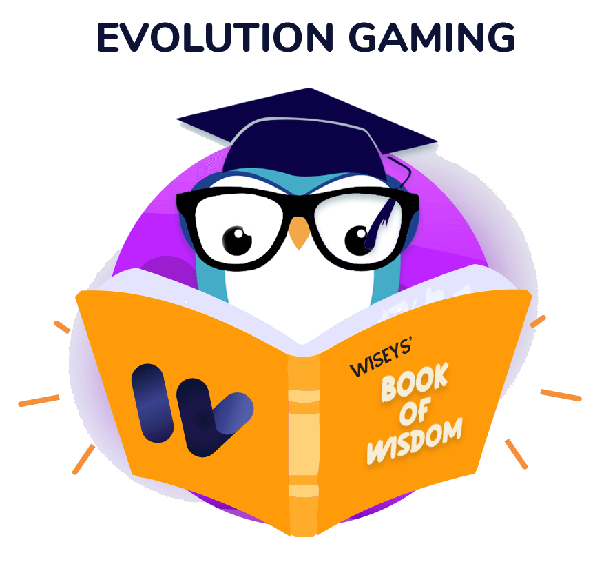 An image of the Evolution page
