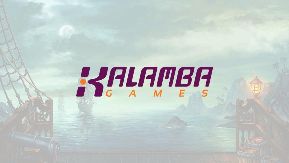 An image of the Kalamba logo on a background