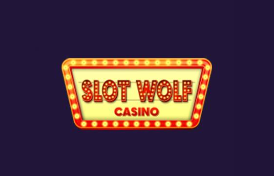An image of the Slot Wolf Casino logo