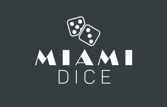 Kuva Miami Dice-kasino-bannerista