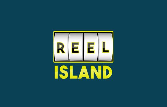 Kuva Reel Island-kasino-bannerista