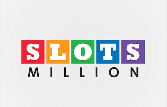 Kuva SlotsMillion-kasino-bannerista