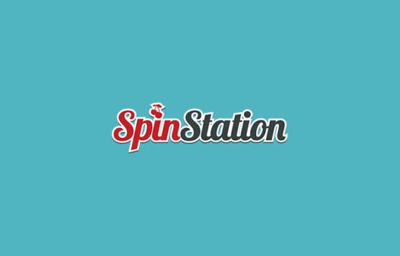 Kuva Spin Station-kasino-bannerista