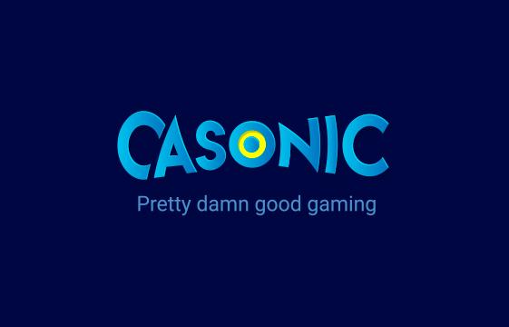 Kuva Casonic-kasino-bannerista