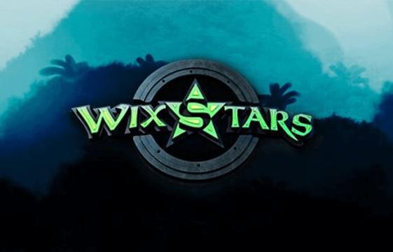 Kuva wixstars-kasino-bannerista