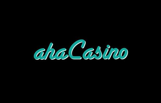 En bild av Aha Casino banner